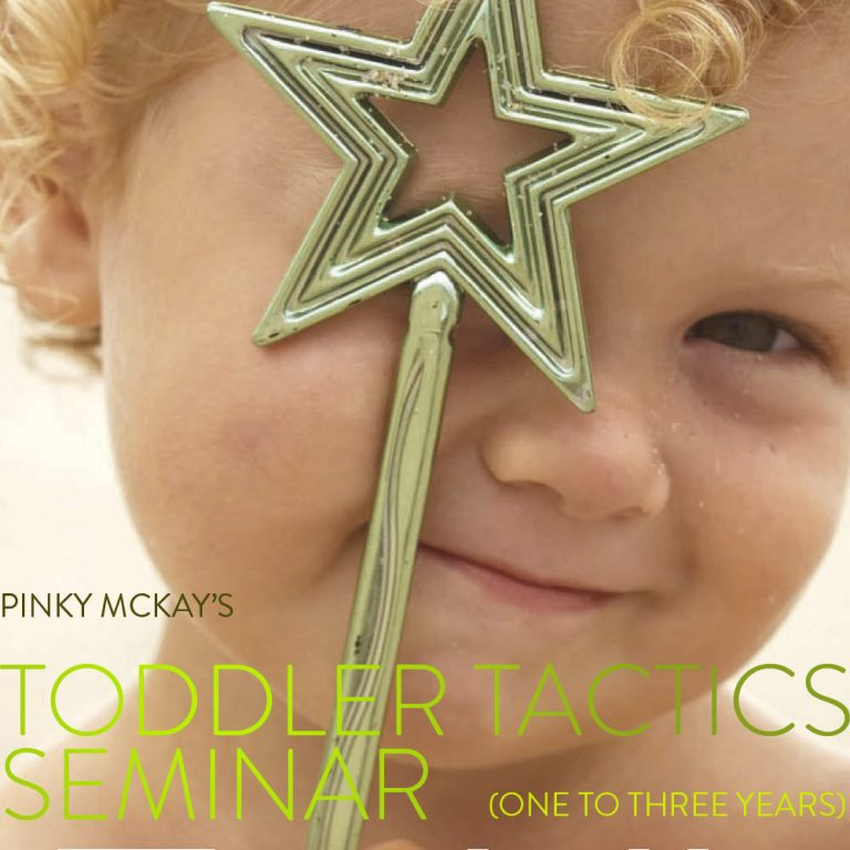 Toddler Tactics Melbourne Seminar Ticket - Adult